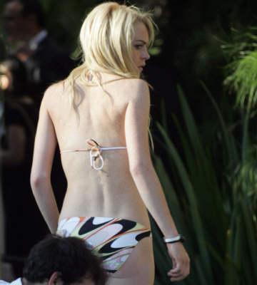lindsay lohan recreates last nude photo № 78305